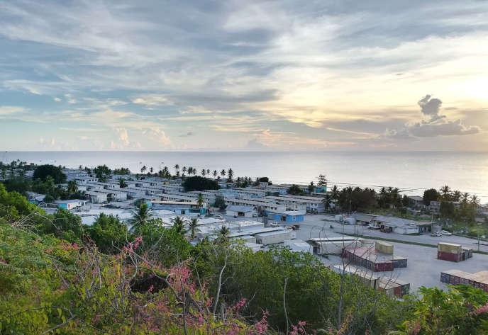 Un camp de réfugiés, à Nauru, en octobre 2018. Photo fournie par Médecins sans frontières.
