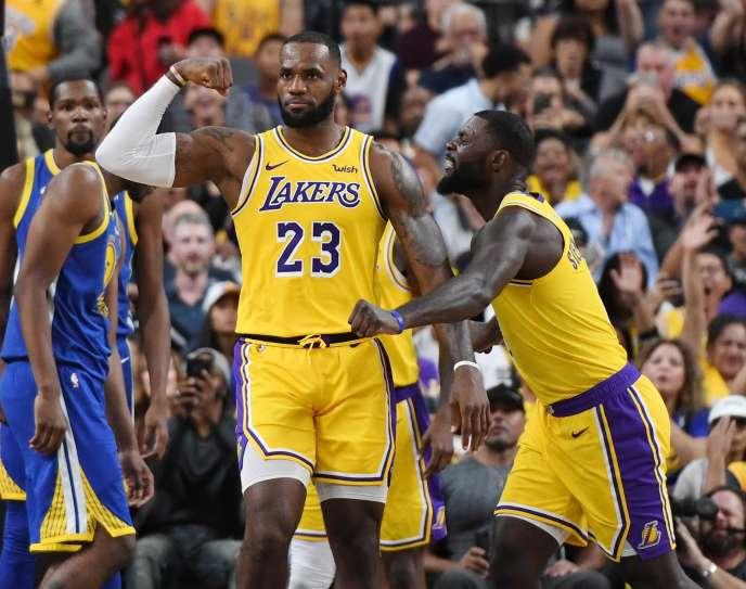 434fea071562 NBA   LeBron James à Los Angeles