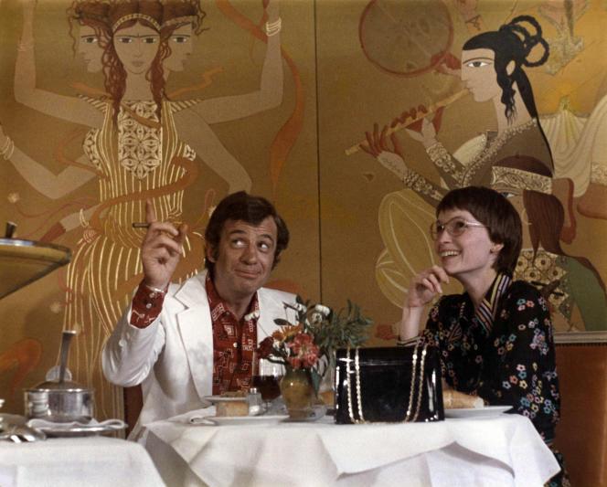 Docteur Popaul de Claude Chabrol avec Jean Paul Belmondo et Mia Farrow 1972