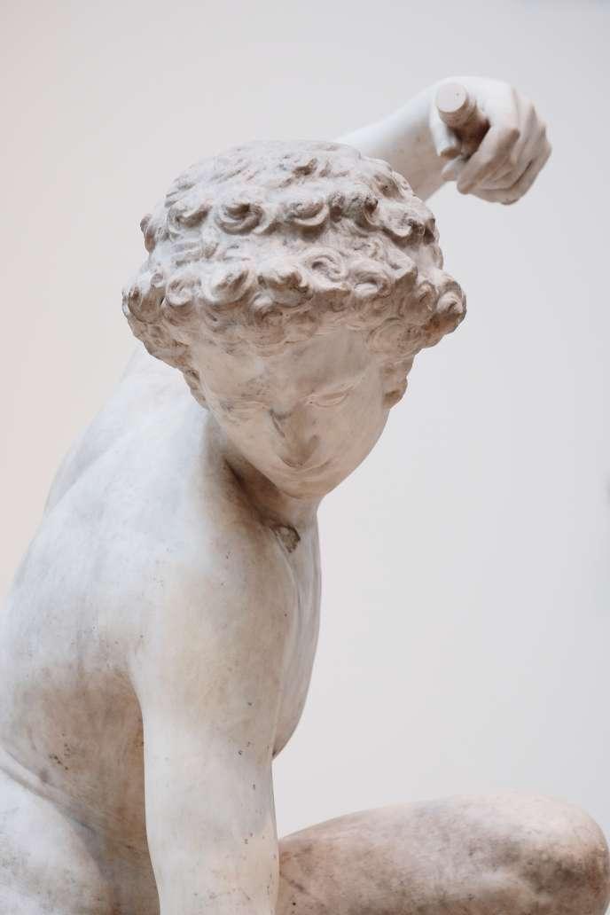 «Narcisse», de Valerio Cioli (XVIe siècle), Victoria and Albert Museum, Londres.