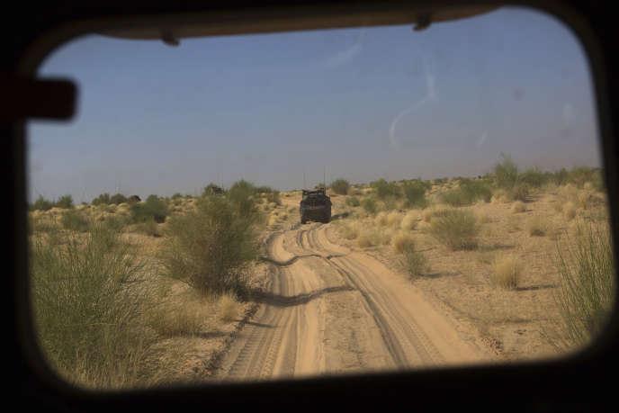L'opération française«Barkhane» intervient majoritairement au Mali (ici dans la région de Tombouctou, en novembre 2014).