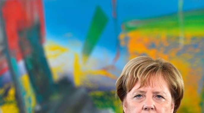 La Chancelière allemande, Angela Merkel, à Berlin, le 11 octobre 2018.