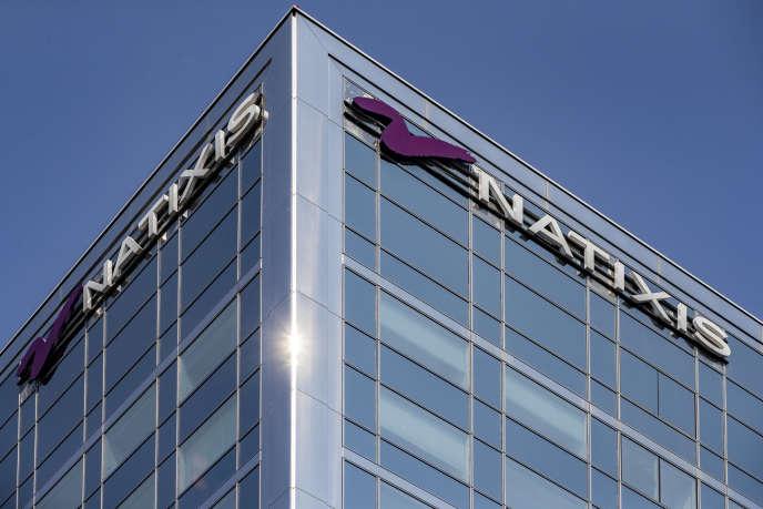 Le siège de Natixis, filiale cotée d'investissement, de financement et d'assurances du groupe bancaire mutualiste BPCE (Banque populaire Caisse d'épargne), à Paris, en août.