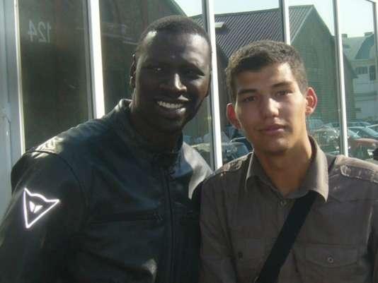 Avec Omar Sy.