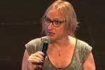 Diane Leriche lors du Monde Festival, le 7 octobre.