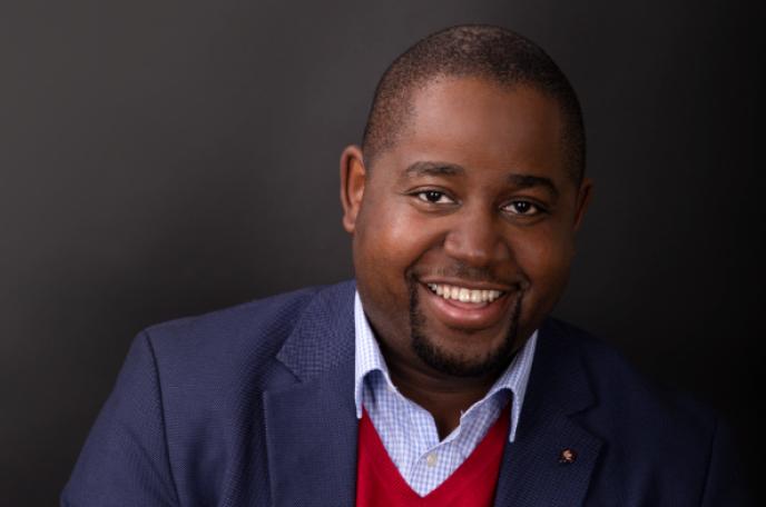 Le Congolais Floribert Anzuluni, coordinateur du mouvement citoyen Filimbi.
