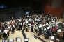 L'orchestre national d'Ile-de-France enregistre la musique du film d'animation « Minuscules 2», le 6 septembre, dans son nouveau studio d'Alfortville (Val-de-Marne).