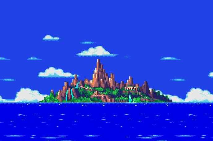 L'île Angel dans « Sonic the Hedgehog 3 »