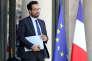 Le secrétaire d'Etat chargé du numérique, Mounir Mahjoubi, à l'Elysée, le 6 juillet.