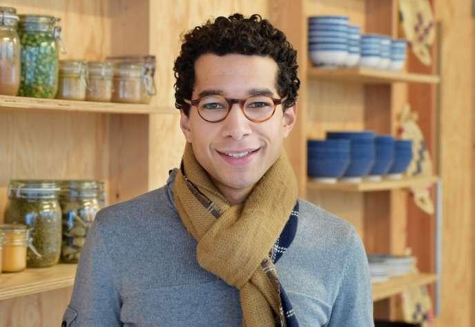 Kevin Berkane, HEC, cofondateur de Kialatok, entreprise d'insertionen lien avec la diversité.