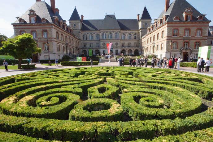 La Cité universitaire internationale à Paris, en 2003.