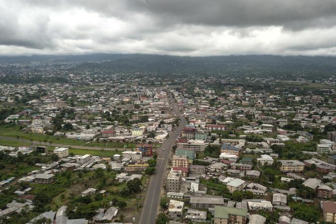 La capitale de la région Sud-Ouest,Buéa, le 5 octobre.