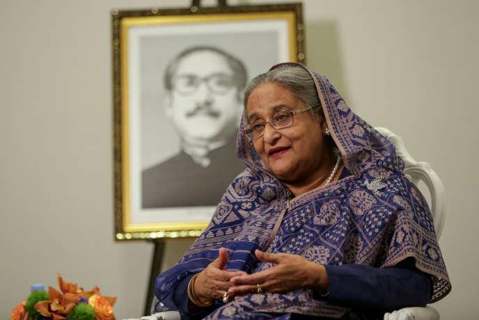 La première ministre du Bangladesh, Sheikh Hasina, le 25 septembre.