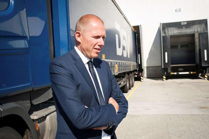 Jens Bjorn Andersen, PDG du danois DSV, en octobre 2016, à Copenhague.