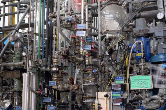 Un site industriel de chimie fine à Pithiviers (Loiret), en 2013.