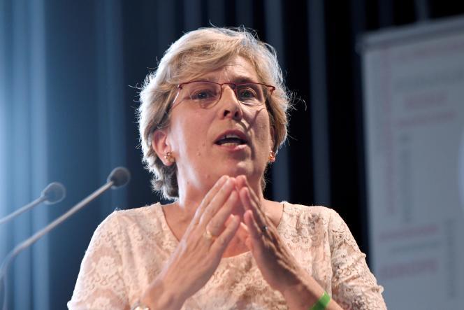 La sénatrice PS, Marie-Noëlle Lienemann, le 11 septembre 2016 à La Rochelle.