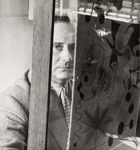 Le peintre Joan Miró en 1947.