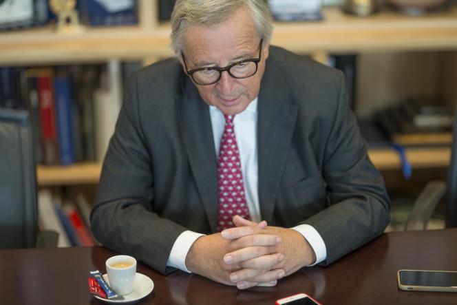 Jean-Claude Juncker, à Bruxelles, le 11 octobre.