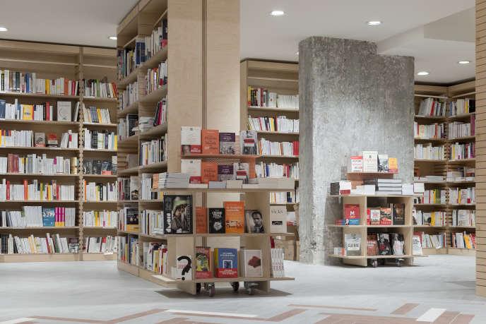 «Ici», la nouvelle librairie indépendante du boulevard Poissonnière, à Paris, est installée sur 500 mètres carrés.