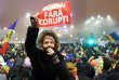 « La Roumanie n'a rien à voir avec ses voisines, gagnées par le courant populiste et illibéral »(Photo : manifestante contre la corruption, en 2017).