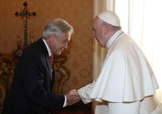 Le pape François a reçu samedi le président chilien Sebastian Pinera, après le scandale d'abus sexuels qui secoue l'église catholique chilienne.