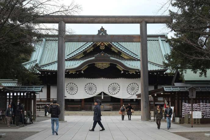 Le sanctuaire de Yasukuni, à Tokyo, en 2016.