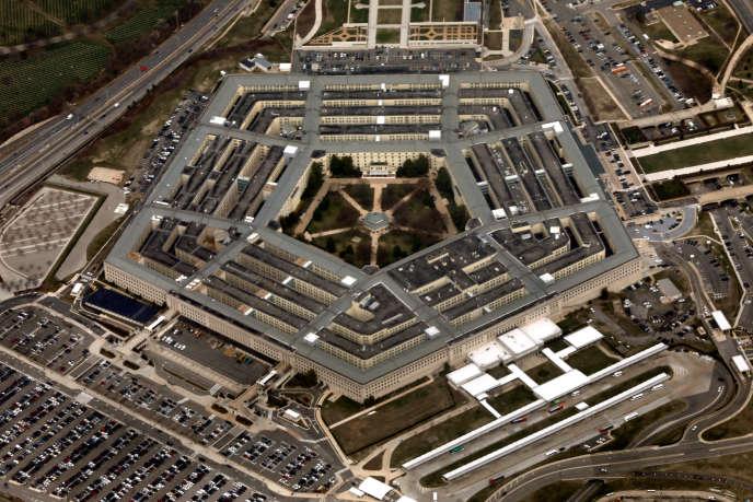 Vue aérienne du Pentagone, le siège du ministère américain de la défense, à Washington, en mars.