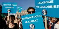 Marche contre le changement climatique, le 13 octobre à Paris.