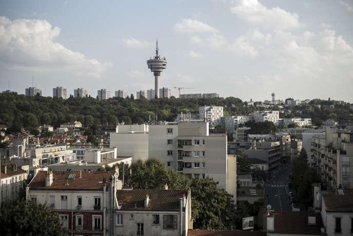 La tour de télécommunication des Lilas.