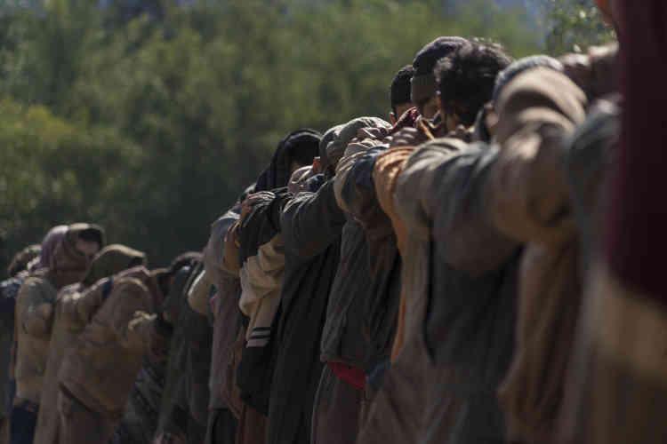Au Maroc (photo), en France, en Ukraine, en Russie…, des centaines de figurants ont participé au tournage de la quatrième saison du «Bureau des légendes».