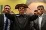 Le candidat d'extrême droite, Jair Bolsonaro, lors d'une conférence de presse, à Rio de Janeiro, le 11 octobre.