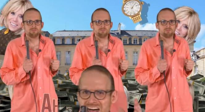 Mike Borowski, créateur du site Lagauchematuer.fr, se met en scène dans des vidéos sur Facebook.