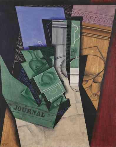 «Le rectangle de ciel bleu appartient au thème de la fenêtre qui trahit sans doute l'influence de Matisse rencontré à Collioure en 1914.»