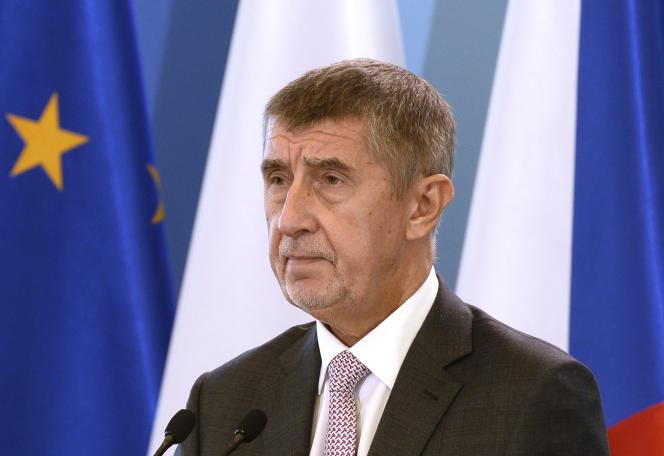 Andrej Babis, le premier ministre tchèque, le 15 octobre.
