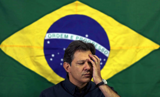 Fernando Haddad, le 15 octobre à Sao Paulo.