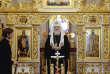 Le patriarche de Moscou, Kirill, à Minsk, le 15 octobre.