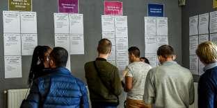 La foire de l'emploi à Tourcoing, le 4octobre.