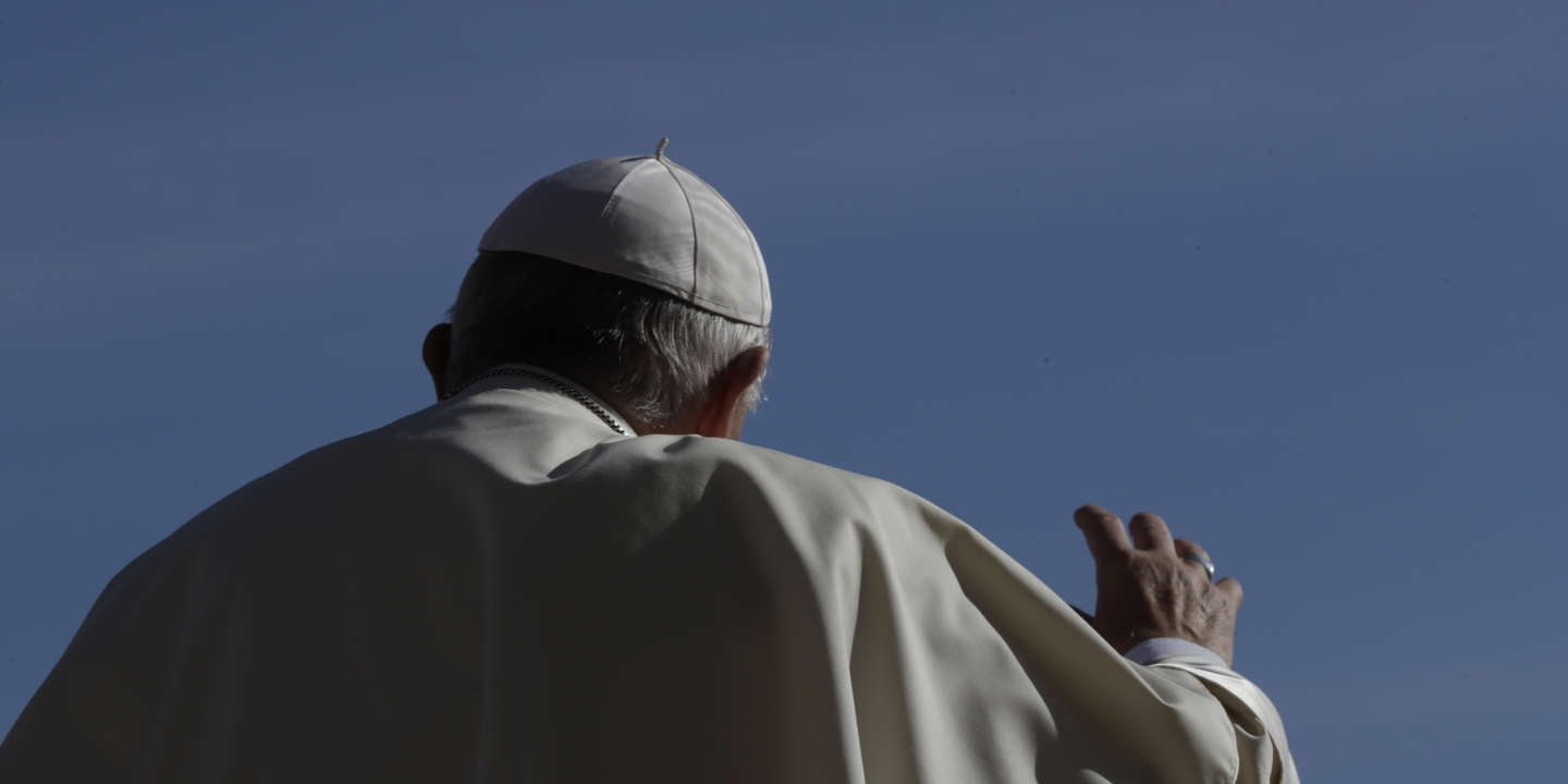 Pope Francis arrives in St. Peter's Square at the Vatican for his weekly general audience, Wednesday, Sept. 12, 2018. (AP Photo/Alessandra Tarantino)