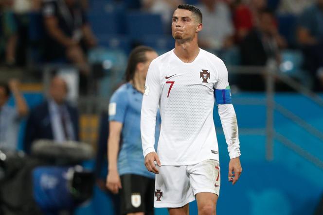 Le capitaine du Portugal, Cristiano Ronaldo, le 30 juin 2018