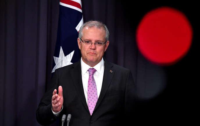 Scott Morrison, le premier ministre australien, le 16 octobre.