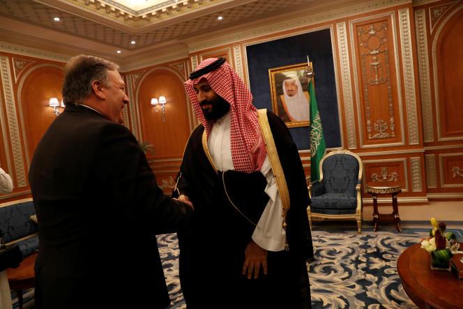 Mike Pompeo a rencontré le prince héritier saoudien Mohammed Ben Salman.
