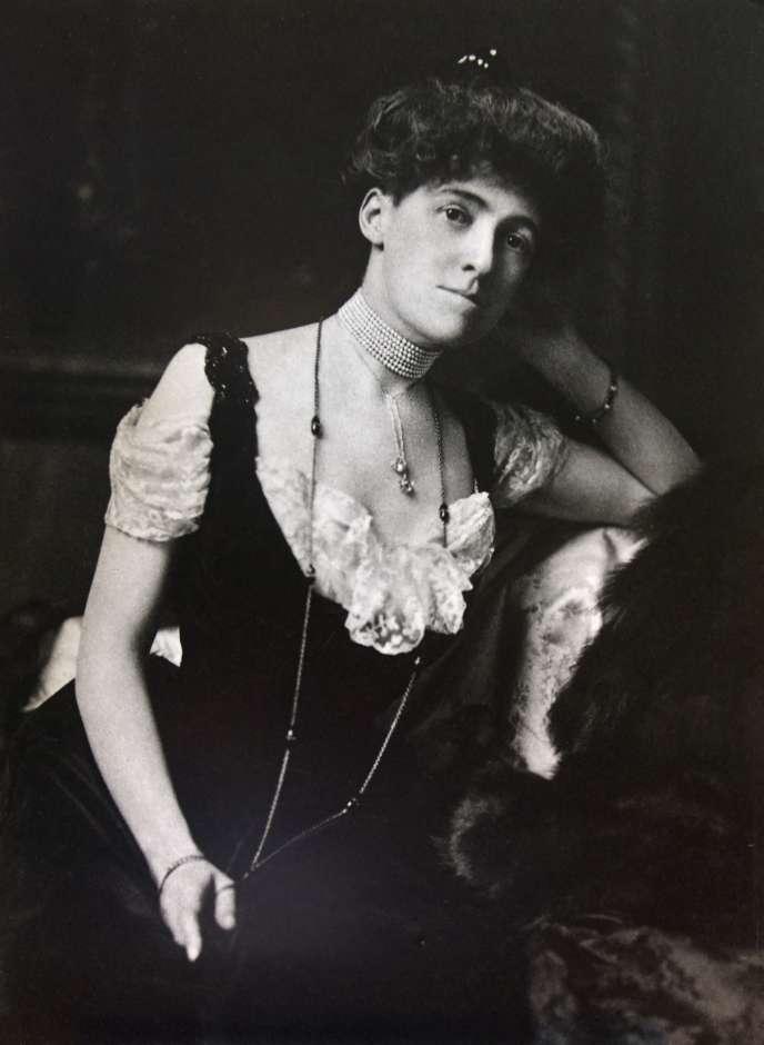 L'écrivaine américaineEdith Wharton, photo non datée.