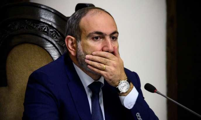 Nikol Pashinyan avait été porté au pouvoir au mois de mai à la faveur de manifestations populaires.