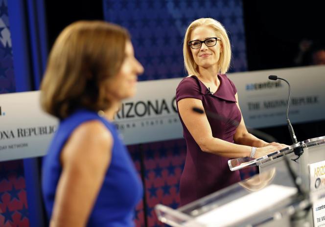 La républicaine Martha McSally et la démocrate Kyrsten Sinema s'affrontent pour reprendre le siège du républicain Jeff Flake, qui ne se représente pas.