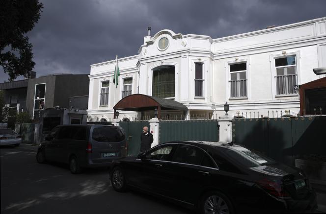 La résidence du consul d'Arabie saoudite le 16 octobre 2018.