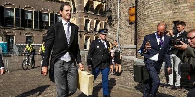 Le ministre néerlandais des finances, Wopke Hoekstra, l'un des membre de l'informelle«ligue hanséatique», à La Haye (Pays-Bas), le 18 septembre.