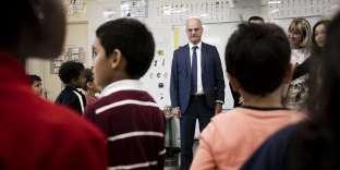 Le ministre de l'éducation, Jean-Michel Blanquer,le 7 septembre à Poissy (Yvelines).