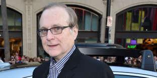 Le cofondateur de Microsoft, Paul Allen, à Los Angeles (Californie), en octobre 2014.
