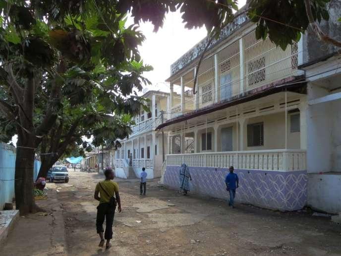 A Mutsamudu, capitale de l'île d'Anjouan, aux Comores, en 2013.