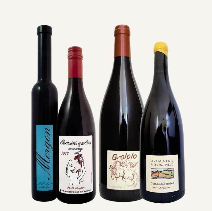 Dessin de Siné, jeux de mots hmoristiques, les producteurs de vins de France l'ont bien compris : pour vendre, il faut marquer les esprits.